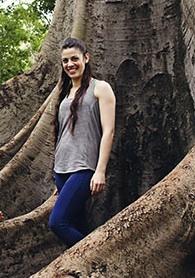 jackie in tree